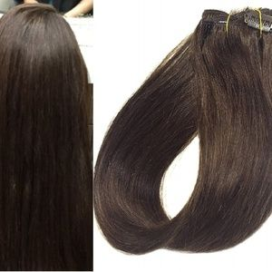 "18"" Human Hair Clip in Extensions 70 Grams #2"